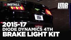 How To: Install Mustang Diode Dynamics 4th Brake Light Kit (15-17 All)