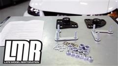How To: Install SVE Caster Camber Plates (94-04 All)
