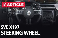 How To Install SVE Mustang X197 Steering Wheel (10-14)