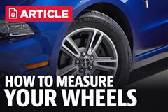 How to Measure your Wheels