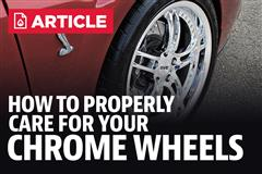How to Properly Care for Your Chrome Wheels