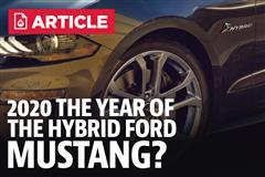Could 2020 Be The Year Of A Hybrid Ford Mustang?