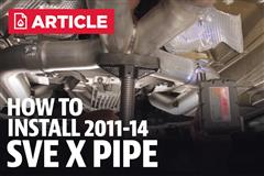 How To Install Mustang GT Mid Pipe (11-14)