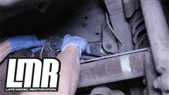 How To Install Mustang 5.0 Resto Rear Upper Control Arms