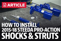 How To Install Mustang Shocks & Struts (2015-2019)