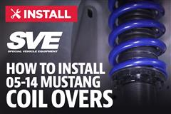 How To Install Mustang SVE Coilovers (05-14)