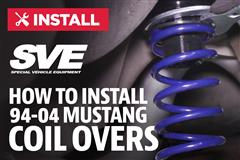 How To Install Mustang SVE Coilovers (94-04)
