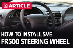 How To Install SVE FR500 Steering Wheel