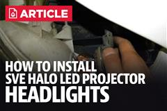 How To Install Halo LED Projector Headlights