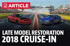 2018 Late Model Restoration Cruise In