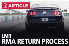 LMR RMA Return Process