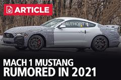 Mach 1 Mustang Rumored In 2021