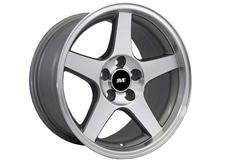 Machined 2003 Cobra Style Mustang Wheels