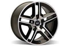 Machined GT500 Mustang Wheels