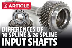 Mustang 10 Spline vs 26 Spline Differences