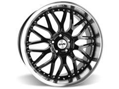 "20"" Gloss Black 2005-09 Mustang SVE Series 3 Wheels"