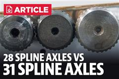 28 Spline Vs 31 Spline Axles