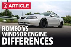 Mustang Romeo Vs Windsor Engine Differences