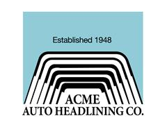 Acme Auto Headlining Co.
