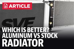 Aluminum Radiator Vs Stock Radiator Benefits, Features & Differences