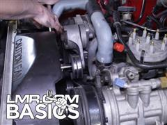 How To Change Serpentine Belt On Ford Mustang