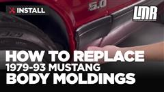 How To Remove/Install Mustang Body Moldings (87-93)