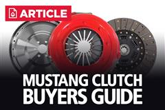 Mustang Clutch Buyers Guide