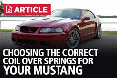 Mustang Front Coilover Conversion Guide