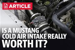 Is a Cold Air Intake for my Mustang Worth It?