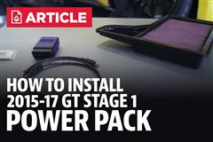 How To Install Mustang Ford Performance Power Pack Stage 1 (15-17)