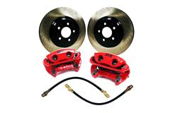 Mustang Complete Front Brake Kits