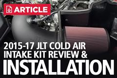 2015-17 Mustang GT JLT Cold Air Intake Kit Review & Install (5.0L)