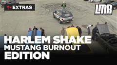 Mustang Harlem Shake Burn Out Edition – The Aftermath!