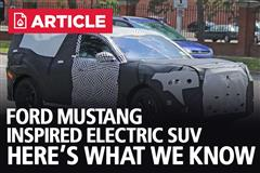 Ford Mustang Mach E - Mustang Inspired Electric SUV