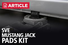 Mustang Jack Pad Kit | SVE Product Highlight