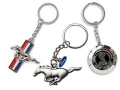 Mustang Keychains and Key Fobs