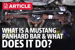 What Is A Mustang Panhard Bar & What Does It Do?