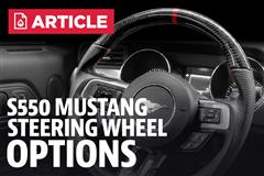 2015 Mustang Steering Wheel Options (15-17)