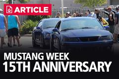 Mustang Week 15th Anniversary