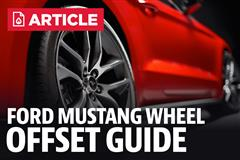 Ford Mustang Wheel Offset Guide