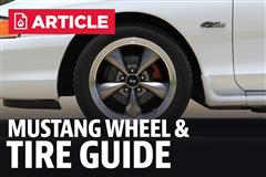 Mustang Wheel & Tire Guide (SN95 & New Edge)