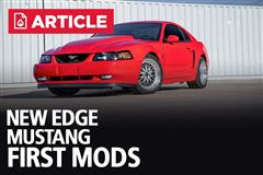 New Edge Mustang First Mods