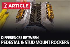 Differences Between Pedestal & Stud Mount Rockers