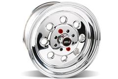 Polished Weld Draglite Mustang Drag Wheels