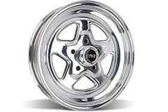 Polished Weld Pro-Star Mustang Drag Wheels