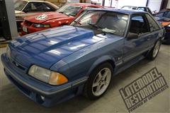 Project Blue Collar: Fox Body Mustang Restoration
