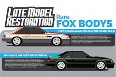 Rare Fox Body Mustangs