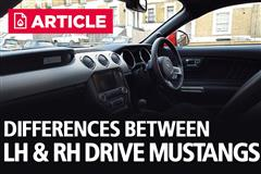 What are the Differences Between RH Drive & LH Drive Mustangs?