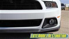 How To Install Roush Mustang Fog Light Kit Install (13-14)
