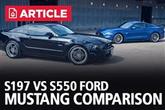S197 Vs S550 | Ford Mustang